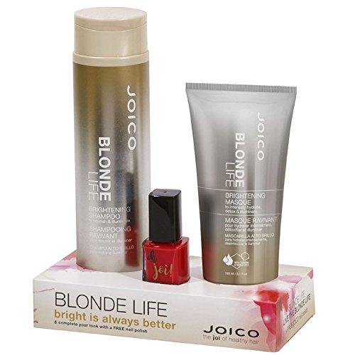 Joico Blonde Life Duo-Set & Gratis-Nagellack Pflege-Set für blondes Haar