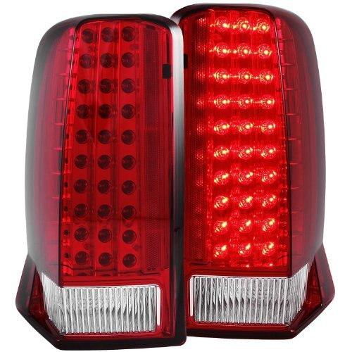 anzo-usa-311120-cadillac-escalade-red-clear-with-o-cap-led-tail-light-assembly-sold-in-pairs-by-anzo