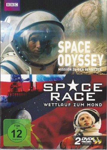 Space Odyssey - Mission zu den Planeten / Space Race - Wettlauf zum Mond (2 DVD's) (BBC)