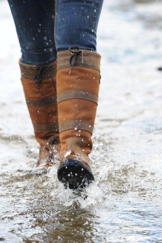 Dublin - Stivali per il tempo libero con rivestimento impermeabile, disponibili in tutti i numeri Marrone - marrone scuro