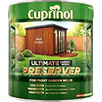 Cuprinol 4L Wood Preserver - Red Cedar