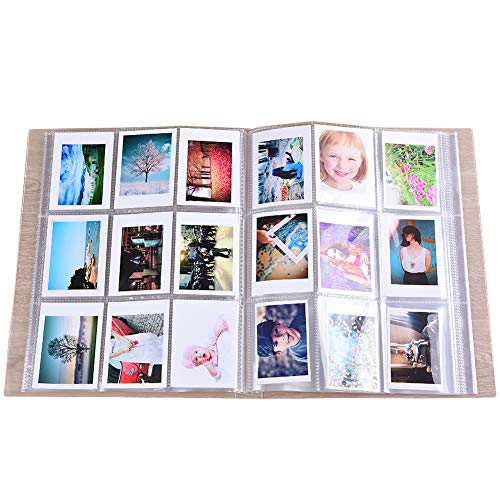 SAIKA 288 Taschen Transparent Mini Fotoalbum Schutz für Fujifilm Instax Mini 7 s 8 8 + 9 25 26 50 s 70 90 Sofortbildkamera, HP Ritzel,...