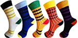 #7: RC. ROYAL CLASS Boys and Girls Calf Length Cotton Elegant Multicolored Socks (Pack of 5 Pairs)