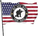 anemone store Bandiera Americana Fly Breeze 3x5 Foot - Mio Figlio ha la Schiena