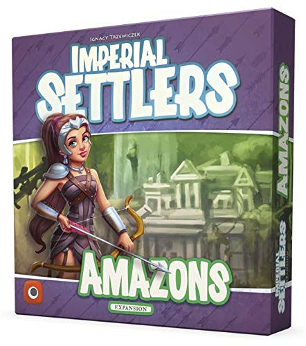 Wydawnictwo Portal Pop 00377 No Imperial Settlers: Amazons EXP, Gioco