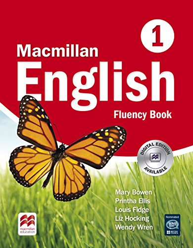 MACMILLAN ENGLISH 1 Fluency: Fluency Book 1 - 9781405003650
