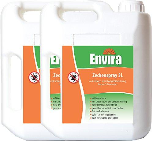 ENVIRA Zeckenvernichtung 2x5Ltr
