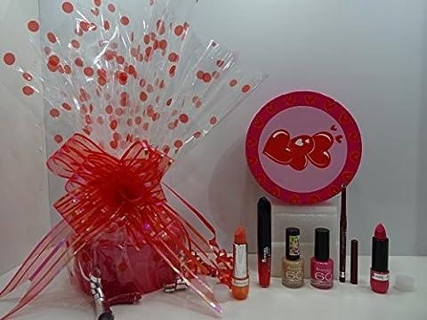 Rimmel London 6pc Luxury Beauty Box Gift Wrapped Gift Hamper For Her