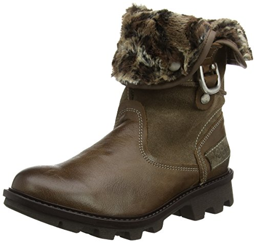 Josef Seibel Damen Boots - Marylin 11 - Braune Schuhe in Übergrößen, Größe:42 (Braune Booties)