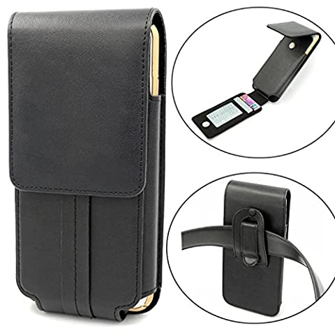 iphone 7 Plus Ceinture Étui Vertical, Mopaclle Cuir de Protection Porte-cartes en Holster Clip Coque , Fermeture Aimantée pour iphone 7 Plus,iphone 6 Plus,iphone 6s Plus