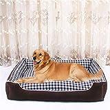 Young Kennel - Lettino per Cani Labrador Golden Retriever sfoderabile e Lavabile, per Cani di Grossa Taglia, per Tutte Le Stagioni, Colore B, Taglia S (50 x 41 cm)