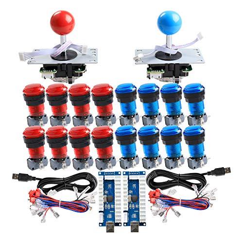 BookButler - 0713741300000 - Reyann 2 Player LED Arcade DIY