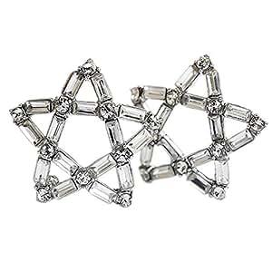 Lily Jewellery Doré 3 cygnes pour femme Cristal Swarovski Elements collier avec pendentif œil de chat pour femme Coffret cadeau inclus