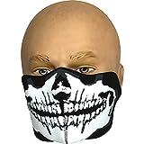 Viper neopreno media Cara Máscara de calavera de calavera