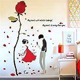 Wandaufkleber home wohnzimmer schlafzimmer wand warme dekoration romantische aufkleber kreative selbstklebende wandaufkleber, breite 120 * höhe 120 cm