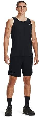 Under Armour Streaker Singlet, Muscle Tank for Running and Gym, Men's Vest with Soft Feel, Men's Sleeveless T-Shirt Men