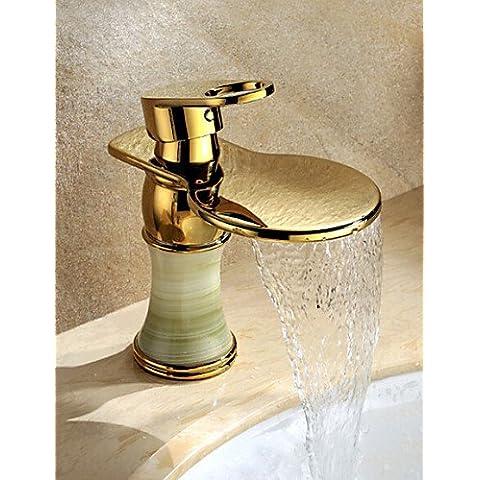 Te- PVS or Cascade généralisée à poignée semplice cuivre salle de bains baignoire à montage sud pont robinet évier de cuisine toilettes robinet