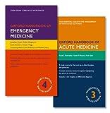 PACK OF OXFORD HANDBOOK OF EMERGENCY MEDICINE AND OXFORD HANDBOOK OF ACUTE MEDICINE (Pack) (Oxford Medical Handbooks)