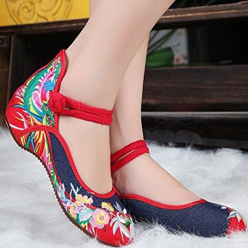 ICEGREY , Chaussures de ville à lacets pour femme bleu jeans