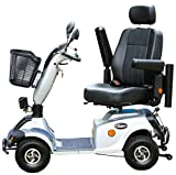 Rolektro eco-Mobil 15 Elektromobil auf 4 Rädern Elektrischer Krankenfahrstuhl E-Scooter Elektroroller 15 Km/H schnell 45 KM Reichweite TÜV Zertifikat keine Helmpflicht