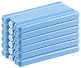 PEARL Kühlakku: 6er-Set Kühlakkus mit je 200 g Füllung, für bis 12 Stunden Kühlung (Kühl-Akkus)
