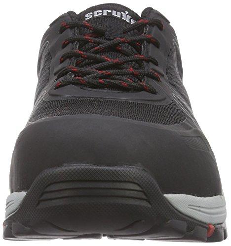 Proteq - Speedwork Trainer S1P Sra Hro, Calzature Di Sicurezza, unisex Nero (schwarz)