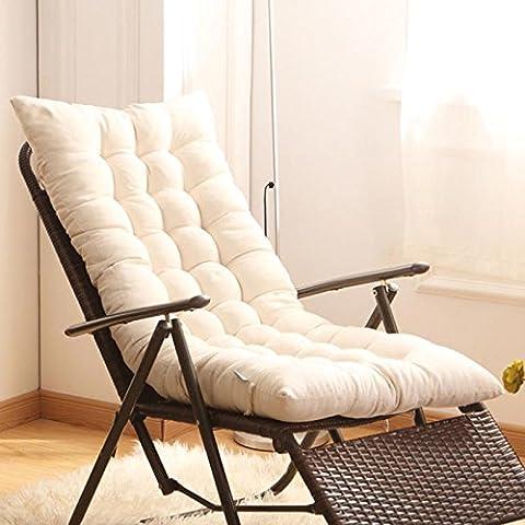 New day®-Rocking chair coussin épais non - dérapant coussin de canapé (Taille: 125 * 48 * 8cm) , khaki