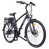 "NCM Hamburg E-Bike City Rad, 250W, 36V 13Ah 468Wh Akku, 28"" Zoll (28"" Schwarz)"