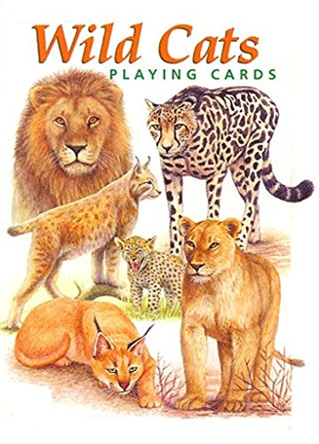 wild-cats-playing-cards-photo-book-english-edition
