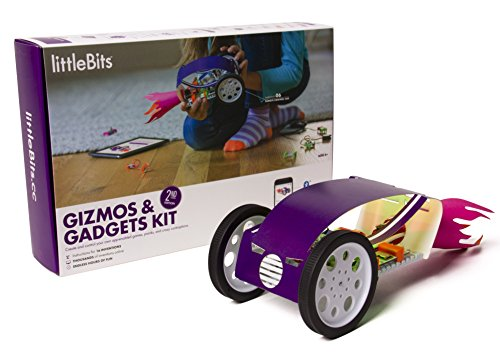 littleBits Gizmos & Gadgets Kit, 2nd Edition Kit de experimentos - Juguetes y Kits de Ciencia para niños (2nd Edition,...