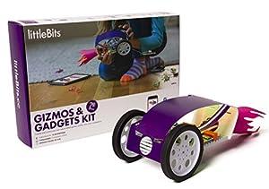 littleBits Gizmos & Gadgets Kit, 2nd Edition Kit de experimentos - Juguetes y Kits de Ciencia para niños (2nd Edition, Ingeniería, Kit de experimentos, 8 año(s), Niño/niña, 1,1 kg, Caja)