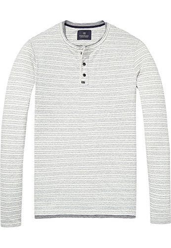 Scotch & Soda Herren Fake Double Layered T-Shirt, Mehrfarbig (Combo A 0217), X-Large (Layered T-shirt)
