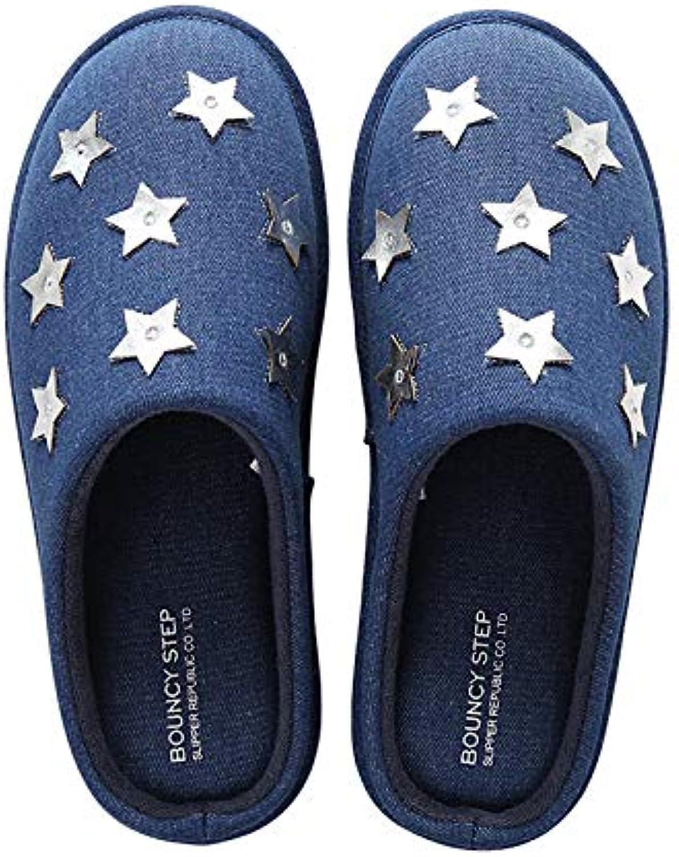 GFLD Pantofole Scarpe di Cotone Caldo Fondo Spesso Autunno Inverno Inverno Inverno Ispessimento, Pavimento Morbido Fondo Antiscivolo... | Outlet Online  | Uomo/Donne Scarpa  96289a
