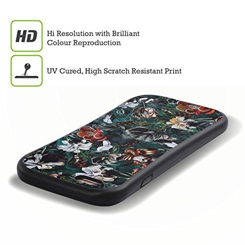 Ufficiale Riza Peker Botanico 2 Fiori 4 Case Ibrida per Apple iPhone 7 / iPhone 8 Giardino Notturno 3