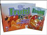 Frutti Instant Getränkepulver ohne Zucker - Geschmackrichtung: Tangerine-Pomegranate Mandarine-Granatapfel 12er Packung