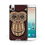 Stuff4 Phone Case for Huawei Honor 7i/ShotX Aztec Animal