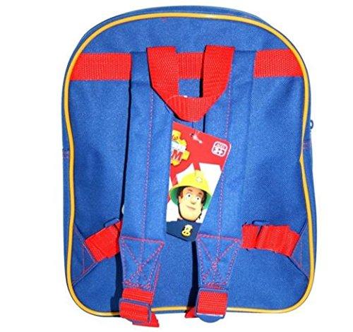 Image of Fireman Sam - New Design! Backpack / School Bag / Rucksack with Front Pocket