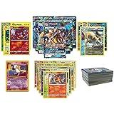 Lot de 30 Cartes Pokemon - Avec une Ex ou Gx et Mew et 8 Rares ou Holos françaises
