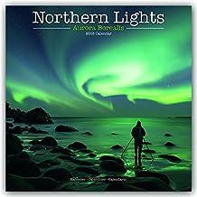Northern Lights - Faszinierendes Nordlicht - Aurora Borealis 2018: Original Avonside-Kalender [Mehrsprachig] [Kalender] (Wall-Kalender)