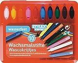 Wachsmalstifte 10er mit Drehülse in Box mit 10St.