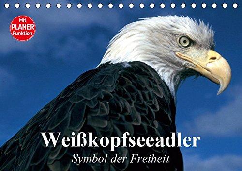 Weißkopfseeadler. Symbol der Freiheit (Tischkalender 2019 DIN A5 quer)