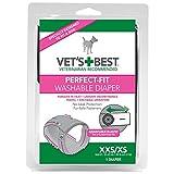 VET 'S BEST Perfekte Passform waschbar weiblich Hund Windel