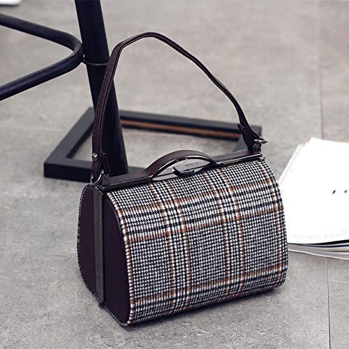 8135adb8b5 XMY Woo bag hembra retro bolso de niño bolsa de almohada bolsa de tela  bolsa de