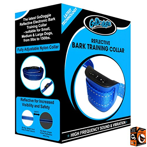 GoDoggie-Anti-Bark-Bark-Training-Dog-Collar-Stop-your-Dog-Barking-High-Frequency-Sound-Vibrations-Only-No-Shock-No-Pain-Completely-Humane-100-Safe-for-your-Dog-Full-Guarantee