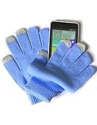 PRESKIN - Gants avec fonction Smartphone pour dames et ados (One SizeTaille Petite), gants NEON de téléphone portable pour tablet, phone pour Samsung Apple iPhone Huawei