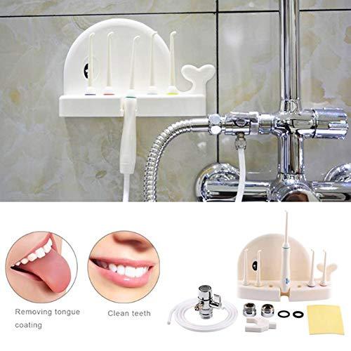 JMung'S Munddusche Zahnreinigung Munddusche für den Wasserhahn am Wasserhahn anschließbare Puls-Munddusche für die Mundhygiene