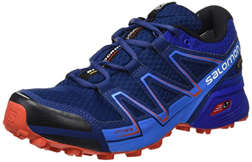 Salomon Speedcross Vario Gore-Tex Scarpe Da Trail Corsa - SS17 Blue