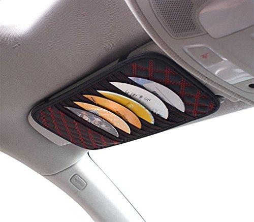Chytaii KFZ CD Lagerung Clip Visier Einzel CD Aufbewahrungsbox Auto Storage für CD