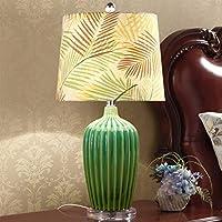 Preisvergleich für AEXU Schick American Pastoral Keramik Tischlampe Moderne Kreative Wohnzimmer Schlafzimmer Nacht Dekorative Lichter...