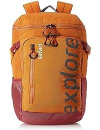 Safari 39.27 Ltrs Orange Casual Backpack (Explorer 20 HY ORN)